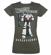 Official Women's Transformers Decepticons Megatron T-Shirt
