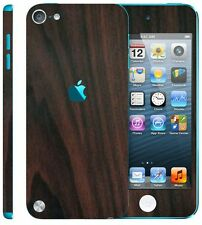 Apple iPod touch (5th generation) Black Carbon wooden mahogany Skin