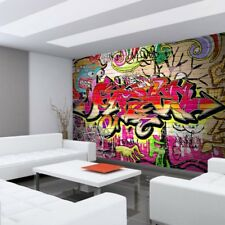 fototapete graffiti tapete hip hop grafitti graffitti street art jugendkultur ebay. Black Bedroom Furniture Sets. Home Design Ideas