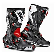 Sidi Vortice Black / Red / White Motorcycle Motorbike Race Track Bike Boots