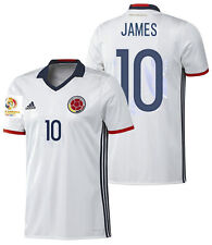 ADIDAS JAMES RODRIGUEZ COLOMBIA HOME JERSEY COPA AMERICA 2016 PATCH.