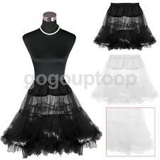 Vintage Retro Rock Roll Net Skirt Petticoat Underskirt Fancy Tutu Costume Prom
