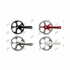 GUARNITURA SINGLE SPEED PROWHEEL SOLID SCATTO FISSO PISTA FIXED CRANKSET