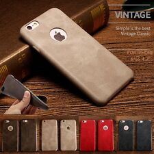 *NEW SOFT PU LEATHER* Ultra Thin Back Cover Case for * Apple iPhone 6/6s *