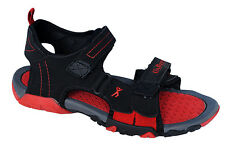 Unique Brand Mens Black Red Casual Sports Sandal - SS 413