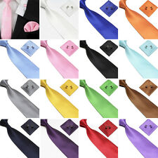 Woven Silk HandMade Mens Tie Cufflinks and Handkerchief Gift Set Hanky Necktie