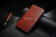 Premium Note3-018 Pu Leather Magnet Flip Cover Case for Samsung Galaxy Note 3