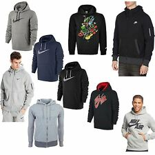 NIKE Mens Womens Hoodie Fleece NikeAir Foundation Pullover Top Jumper SweatHood