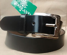 REAL 100% GENUINE LEATHER BLACK BELT FOR MEN'S OFFICIAL EXCELLENT QUALITY