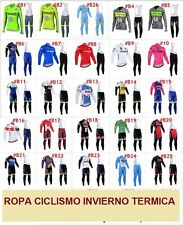 Equipacion ciclismo invierno thermal termica winter ropa cycling maillot jersey