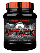 Scitec Nutrition Attack 2.0 Creatin Kreatin Pre-Workout - 720g