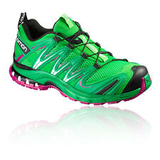 Salomon XA Pro 3D Womens Green Waterproof Outdoors Walking Hiking Shoes