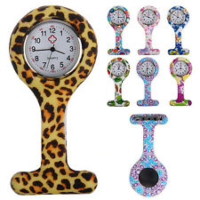 SIGHTLY DECORATO SILICONE SPILLA PER DIVISA INFERMIERE CATENA OROLOGIO DA TASCA