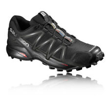Salomon Speedcross 4 Womens Black Trail Running Sports Shoes Trainers Pumps