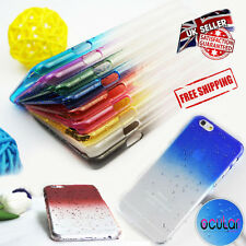 3D Raindrop Transparent Hard Back Case Cover For Apple iPhone 4/4S 5/5S 6/6SPlus