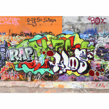 "Vlies Fototapete ""Graffiti Stone Wall "" ! Kindertapete Tapete Kinderzimmer Stree"