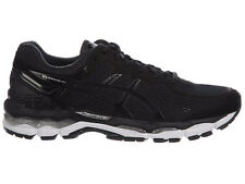 NEW MENS ASICS GEL-KAYANO 22 RUNNING SHOES TRAINERS BLACK / ONYX / SILVER