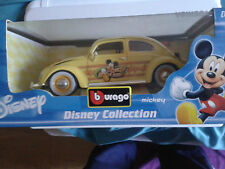 1/18 BURAGO  VW KAFER DISNEY COLLECTION - MICKEY MOUSE - (2002)