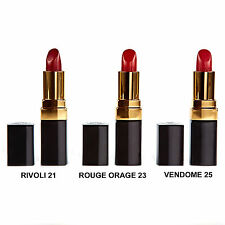 CHANEL ROUGE COCO HYDRATING CREME LIP COLOUR RED LIPSTICK - RIVOLI ROUGE ORAGE