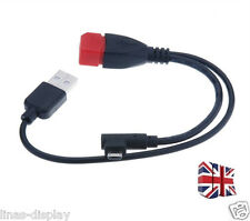 HOT USB Micro Male To USB Female Host OTG Cable & USB Power Cable Y Splitter