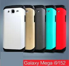 Slim Fit Armor Dual Layer Back Case for Samsung Galaxy Mega 5.8 I9152