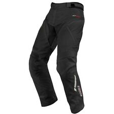 Alpinestars Andes Short Leg Drystar Waterproof Black Textile Motorcycle Trousers