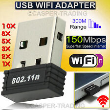 USB Mini 150MBPS WIFI Wireless Adaptor 802.11 B G N Lan Network Dongle Adapter