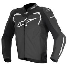 Alpinestars GP Plus R Black Leather Sports Motorcycle Biker Jacket