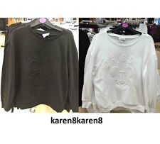 DISNEY MINNIE MOUSE or MICKEY MOUSE Embossed Sweatshirt Jumper Primark