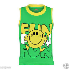 Orange and Orchid Boys Casual Printed Cotton Round Neck Green Color T-Shirt