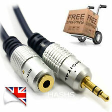 3.5mm Stereo Jack Headphone Extension Cable Aux Audio Lead OFC 0.5M 3M 5M [A534]