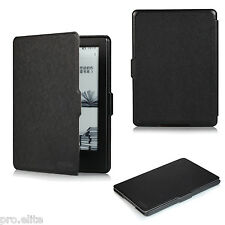 "ProElite Flip case cover for Amazon Kindle E Reader 6"" 8th Generation 2016 Black"