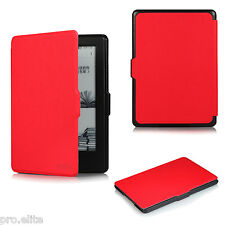 "ProElite Flip case cover for Amazon Kindle E Reader 6"" 8th Generation 2016 Red"