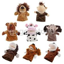 Lovely Zoo Animals Head Action Figure Pretend Play Hand Puppet Children Toys
