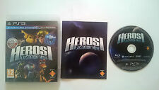 JUEGO HEROES MOVE SONY PAL PLAYSTATION 3 PS3 CASTELLANO. BUEN ESTADO