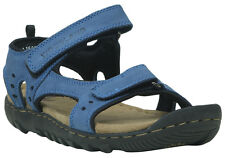 WOODLAND ORIGINAL MENS BLUE 1609114 CASUAL SANDAL SLIPPER