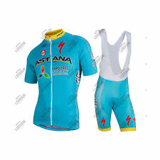COMPLETO NALINI TEAM ASTANA 2016 CYCLING SET KIT ESTIVO SUMMER CICLISMO BICI