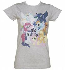 Official Women's My Little Pony Friendship Is Magic Burst T-Shirt