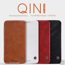 Nillkin Qin Leather Flip Cover Case For Motorola Moto X Style