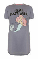 Ladies DISNEY ARIEL The LITTLE MERMAID Pyjama Long T shirt Nightdress