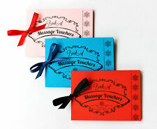 Love Massage Vouchers Coupons Christmas Gift Present Valentine's Day him her