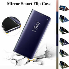 Mirror Clear View Cover Flip Phone PC Hard Case For Samsung Galaxy Note 5