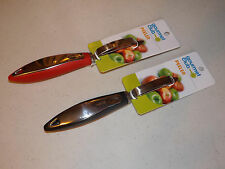 Gourmet Club Vegetable Fruit Potato Peeler Easy Grip Handle Kitchen Gadget