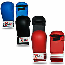 New Karate Mitts Sparring Gloves Competition and Training Martial Arts Punch Bag