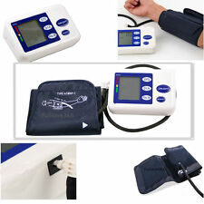 New Digital Arm Blood Pressure Upper Automatic Monitor Heart Beat Meter LCD SY