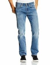 Mens Levis 501.2189 Original Fit Straight Leg Button Fly Jeans Nero
