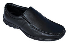 BATA BRAND MENS BLACK SLIPONS FORMAL SHOES 6583