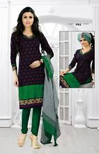 DESIGNER COTTON UNSTITCHED PRINTED CHURIDAR SALWAR KAMEEZ DRESS MATERIAL