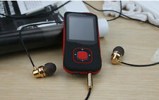 LETTORE PLAYER MP3 MP4 AUDIO VIDEO FOTO RADIO FM DIVX 4 COLORI LCD DA ITALIA