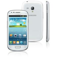 "Samsung Galaxy S3 mini I8190 Smartphone 4 Zoll"" 8 GB pebble-blau white Blau Weiß"